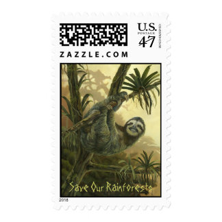 Sloth Stamp