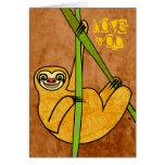 Sloth Tarjetón
