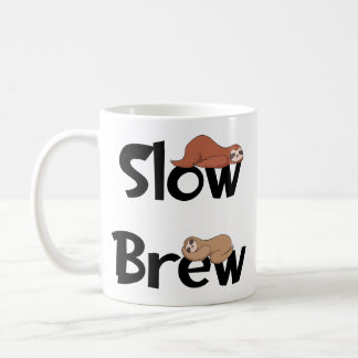 Sloth Tea Mug, Slow Brew Coffee Mug