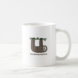 Sloth the Hero Classic White Coffee Mug