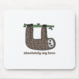 Sloth the Hero Mouse Pad