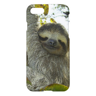 Sloth Up A Tree iPhone 7 Case