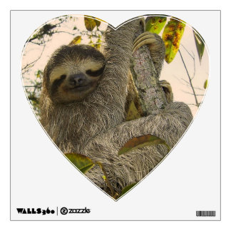 sloth wall sticker