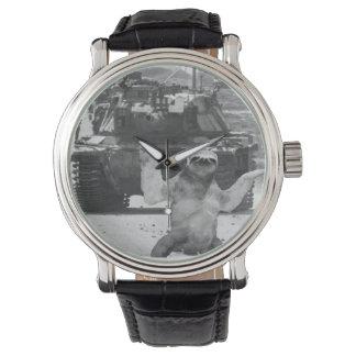 Sloth Warrior Wrist Watch