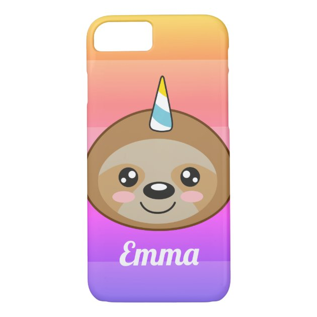 Emma Unicorn iPhone 7 & 8 Case