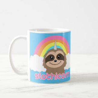 Slothicorn Sloth Unicorn Rainbow Mug