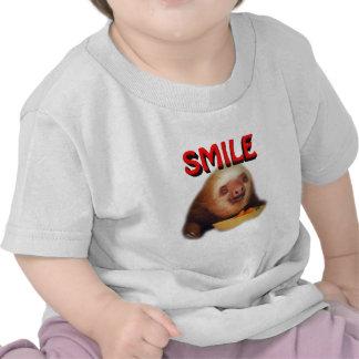 slothie sonriente camiseta