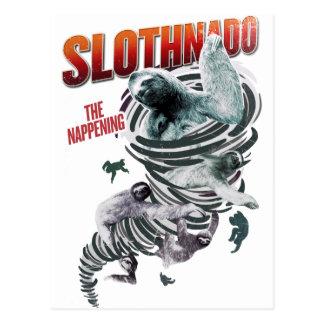 Slothnado: The Nappening Postcard