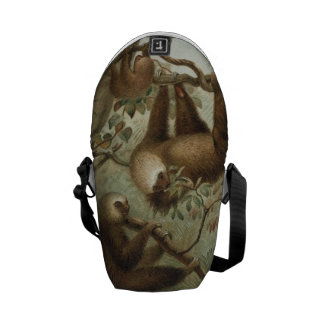 Sloths In Trees Courier Bag