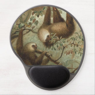 Sloths In Trees Gel Mouse Mats