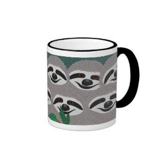 Sloths Ringer Mug