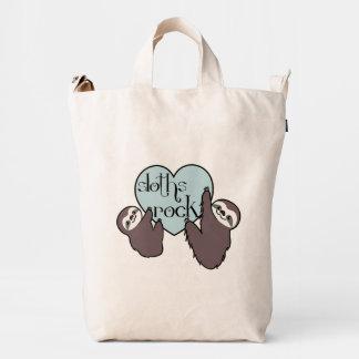 Sloths Rock Duck Bag