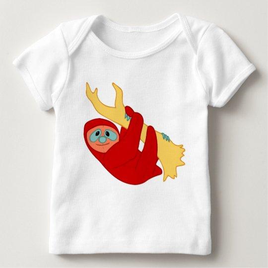 Slothy Friend Baby T-Shirt
