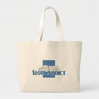 Slots Addict's beach bag