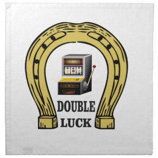 slots double luck yeah napkin