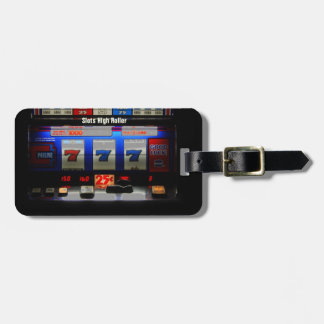 Slots High Roller Luggage Tag