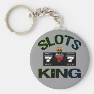 Slots King Keychain