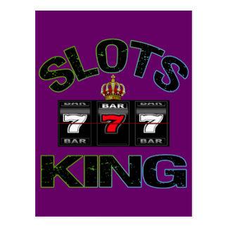 Slots King Postcard