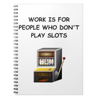 slots note book