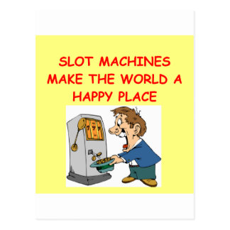 slots player postcard