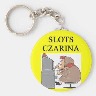 SLOTS pplayer joke Keychain