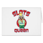Slots Queen - Customize Slot Machine Greeting Card