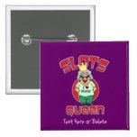 Slots Queen - Customize Slot Machine Pin