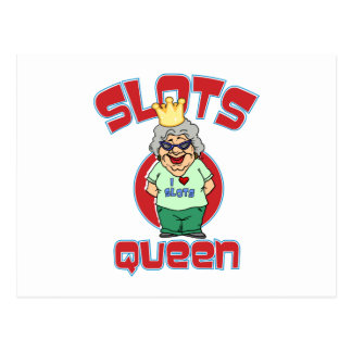 Slots Queen - Customize Slot Machine Postcard