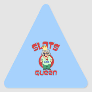 Slots Queen - Customize Slot Machine Triangle Sticker