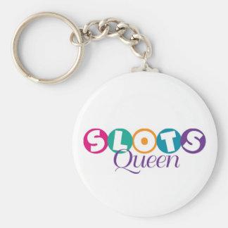 Slots Queen Keychain