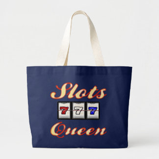 Slots Queen Large Tote Bag