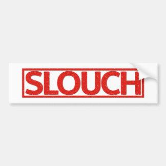 Slouch Stamp Bumper Sticker
