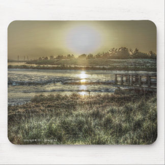 Slough at Dawn Mousepad