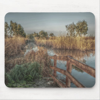 Slough in the morning Mousepad