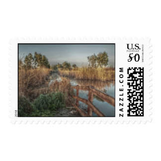 Slough in the morning Postage Stamps