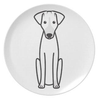 Sloughi Dinner Plate