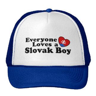 Slovak Boy Trucker Hat