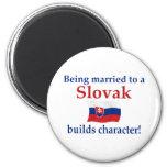 Slovak Builds Character Refrigerator Magnet