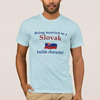Slovak Builds Character T-Shirt