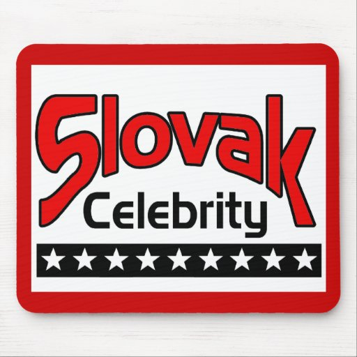 Slovak Celebrity Mouse Pad