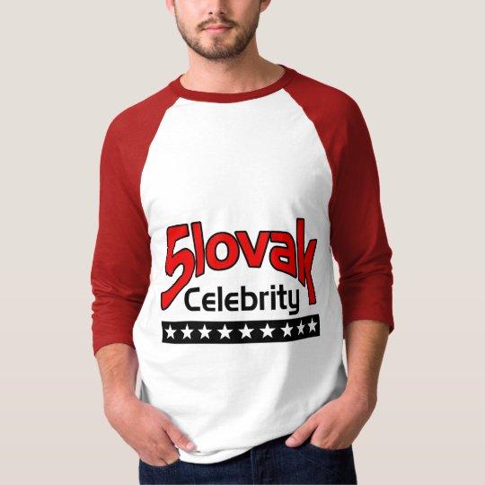Slovak Celebrity T-Shirt
