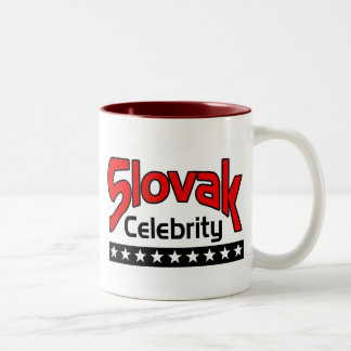Slovak Celebrity Two-Tone Coffee Mug
