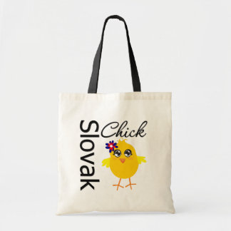 Slovak Chick Tote Bags