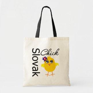 Slovak Chick Budget Tote Bag