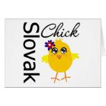 Slovak Chick Cards