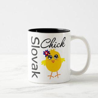 Slovak Chick Two-Tone Coffee Mug