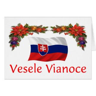 Slovak Christmas Greeting Card