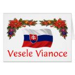 Slovak Christmas Greeting Cards