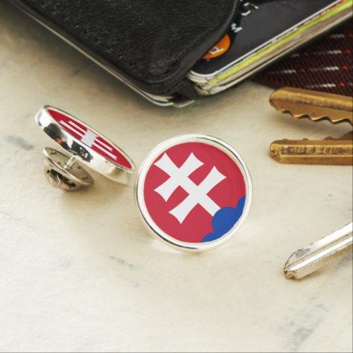 Slovak Coat arms Lapel Pin