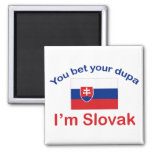 Slovak Dupa Magnet